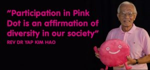 "Musings on Pink Dot: ""An Affirmation of Diversity in our Society"" by Rev Dr Yap Kim Hao"