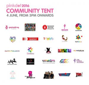 Get to know 25 LGBT groups and allies at the Community Tent