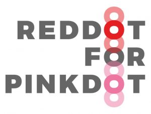 Support Red Dot for Pink Dot 2018